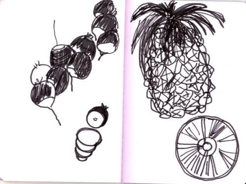 radis et ananas